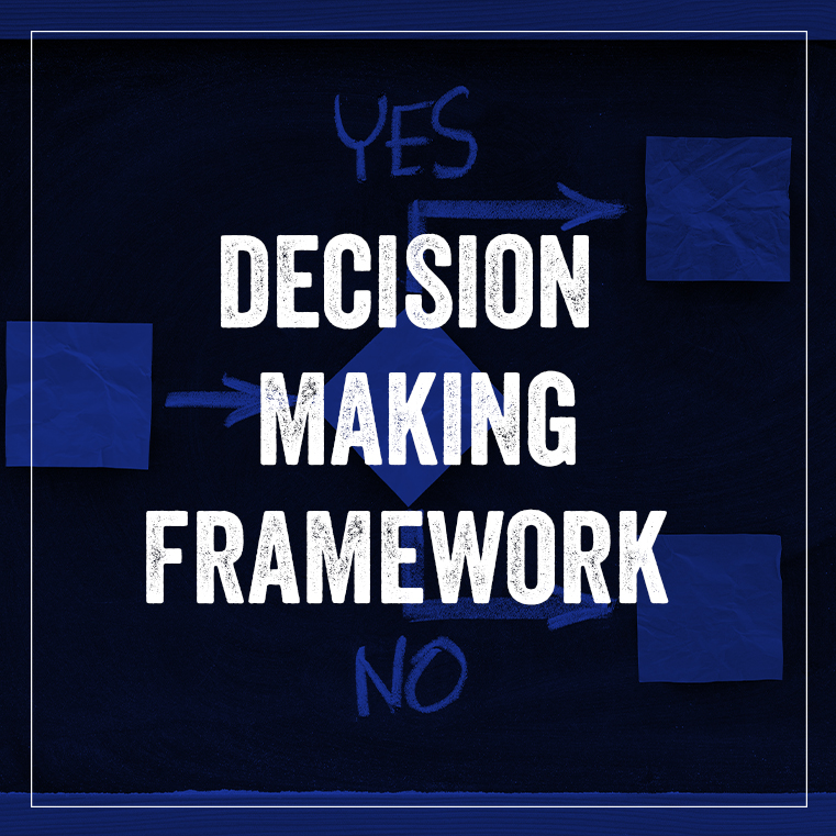 Decision Making Framework P1