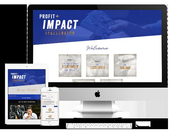 Profit and Impact Accelerator Mockup